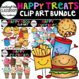 Happy Treats Clip Art Bundle  {Food Clip Art}