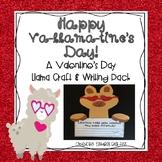 Happy Va-llama-tine's Day! {A Llama Valentine's Day Craft Pack}