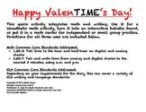 Happy ValenTIME's Day!: Valentine's Day Math