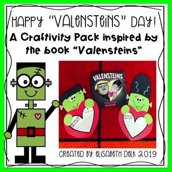 """Happy """"Valensteins"""" Day! {A Valentine's Day Craftivity Pack}"""