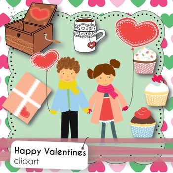 Happy Valentine's Day - Clipart