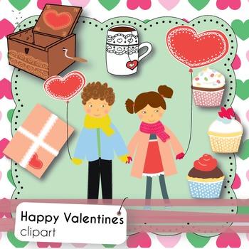 Happy Valentine's Day - Clipart