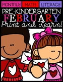 February Print and Learn (Valentine's Day)