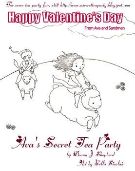 Happy Valentine's Day - Ava and Sandman