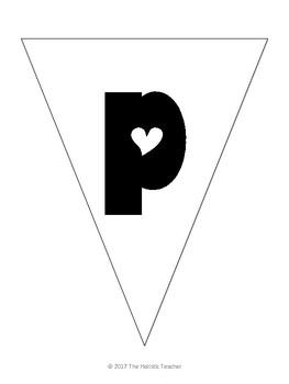 Happy Valentine's Day Classroom Banner
