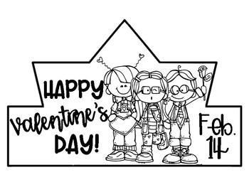 Happy Valentine's Day Crown