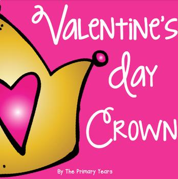 Valentine's Day Crown! {A Freebie!}