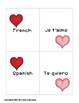 "Happy Valentine's Day! ""I Love You"" in eighteen languages -Spanish, French, etc."