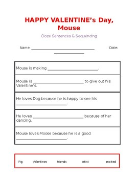 Happy Valentine's Day, Mouse