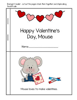 Happy Valentine's Day, Mouse Book Companion