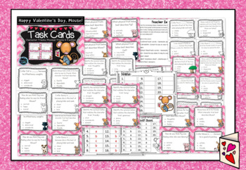 Happy Valentine's Day, Mouse! - Character Traits Task Cards