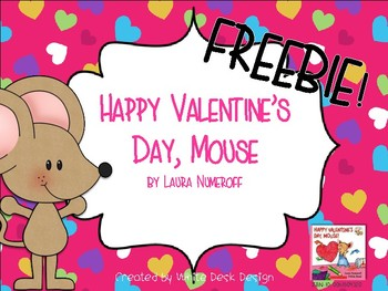 Happy Valentine's Day Mouse FREEBIE