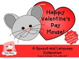 Happy Valentine's Day Mouse- interactive iPad Speech and Language Activities