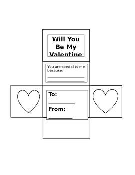 Happy Valentine's Day Surface Area Net Activity
