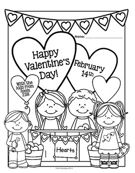 Happy Valentine's Day Activity Booklet/Worksheets: Perfect for 3rd Graders!
