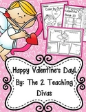 Happy Valentine's Day! By The 2 Teaching Divas