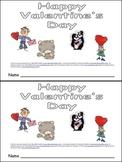 Happy Valentine's Day Kindergarten Emergent Reader