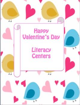 Happy Valentine's Day: Literacy Centers
