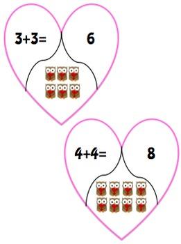 Happy Valentine's Day: Math Centers