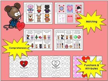 Happy Valentine's Day, Mouse:  Literacy, Language and Listening Book Companion