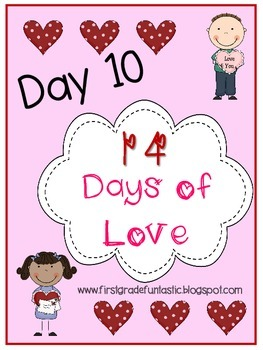 Happy Valentine's Day Pennant: Day 10 of 14 Days of Love