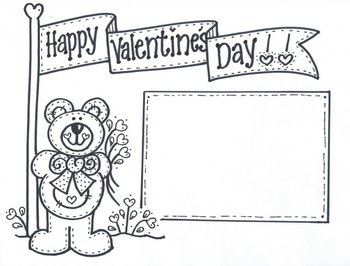 Happy Valentine's Day...Banner Bear