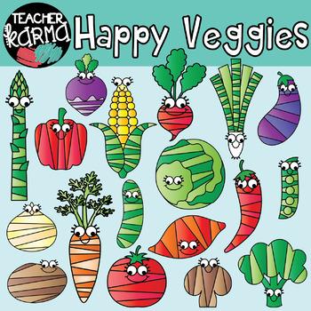 Happy Veggies: Vegetable Graphics