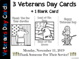 Happy Veterans Day - Thank you Cards