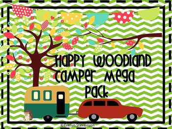 Happy Woodland Campers Mega Set