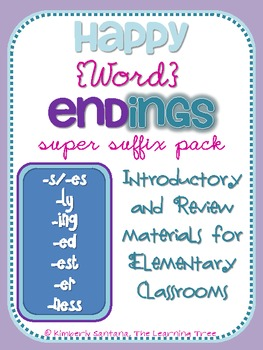 Happy Word Endings {Super Suffix Pack}