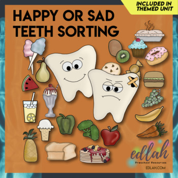 Happy and Sad Teeth (Dental Health)