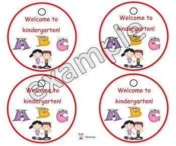 Happy back to school badges