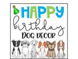 Happy birthday doggie bundle, certificates, brag tags