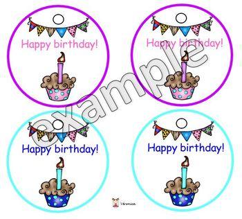 Happy birthday necklaces