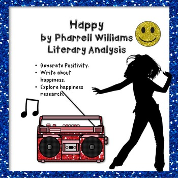 Happy by Pharrell Williams: A Literary Analysis of the Hit Song & Fun Activities