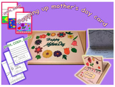 Happy mother's day popping up card