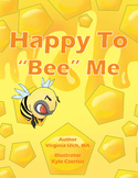 """Happy to """"Bee"""" Me with plush bee"""