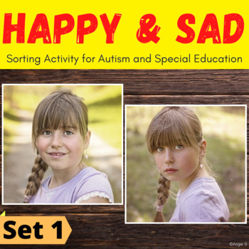Happy vs Sad Sorting Activity for Special Education