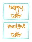 Happy/Hurtful Talk Beginning of the Year Mini Lesson