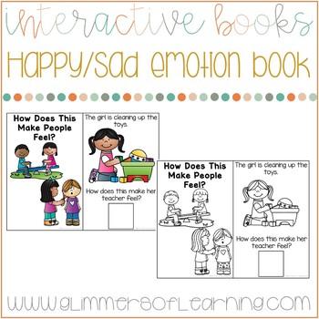 Happy/Sad Interactive Emotion Flip Book