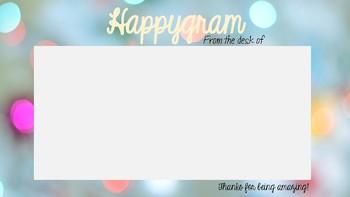 Happygram: Positive Postcards to Send Home