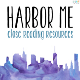 Harbor Me by Jacqueline Woodson: Fiction Close Readings, Graphic Organizers