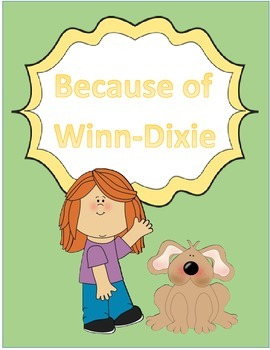 Harcort Journeys 4th Grade Lesson 1 Because of Winn-Dixie Vocab Packet
