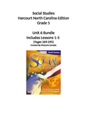 Harcourt 5th Grade Social Studies Unit 6