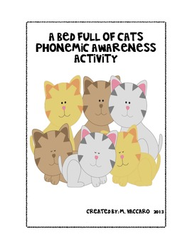 Harcourt A Bed Full of Cats Phonemic Awareness Activity (Segmentation)