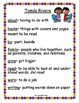 Harcourt Trophies FIRST GRADE Book 3 High-Frequency Focus Sheets/Cut and Paste