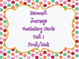 Harcourt : Journeys (1st Grade) Vocabulary Cards Unit 1