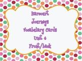 Harcourt : Journeys (1st Grade) Vocabulary Cards Unit 4