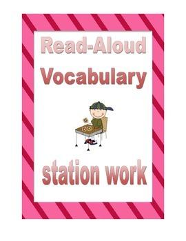 Harcourt: Journeys : 1st grade- Read Aloud Vocabulary Work
