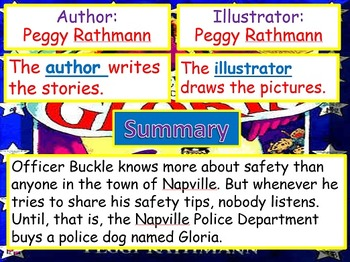Journeys 2014 Grade 2 Officer Buckle and Gloria PowerPoint